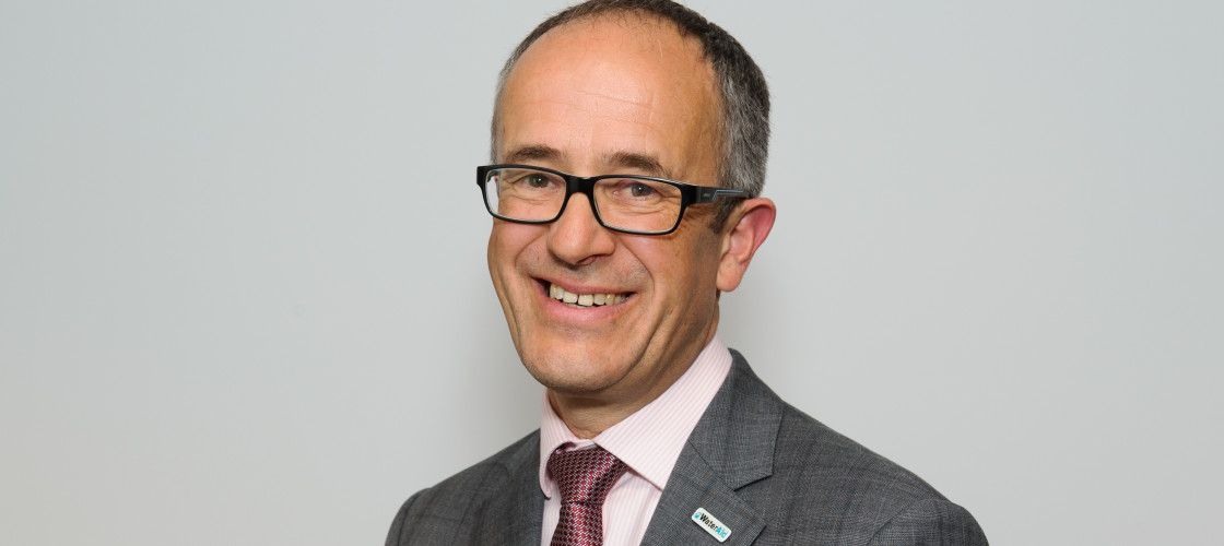 Tim Wainwright, chief executive of WaterAid.