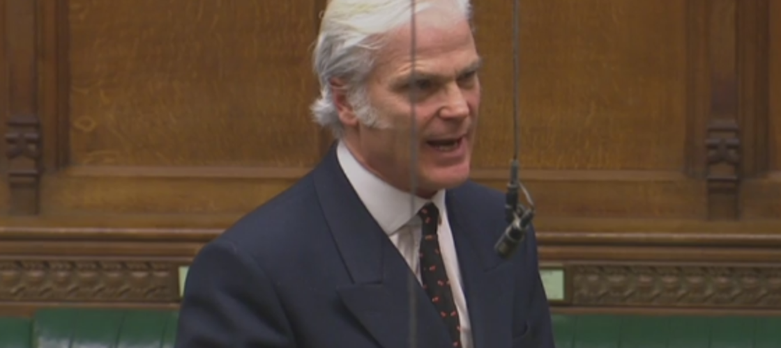 Conservative MP Desmond Swayne