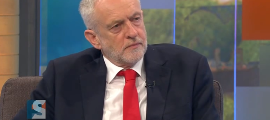 Labour leader Jeremy Corbyn on ITV's Peston on Sunday show