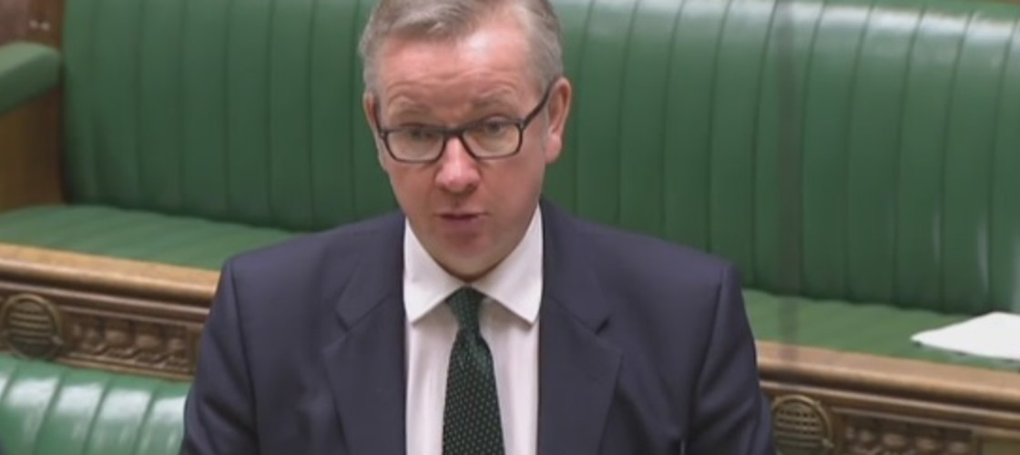 Michael Gove in the House of Commons, 26/04/16