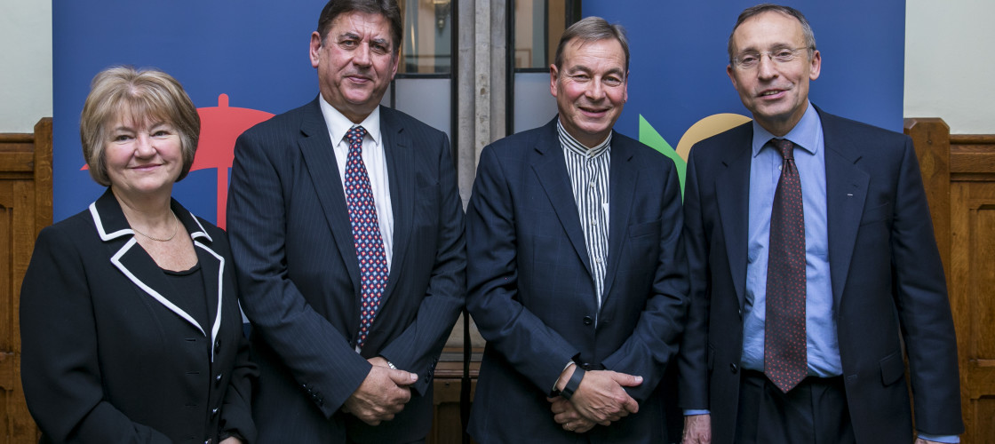 The speakers at the British Safety Council's event
