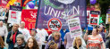 TUC march in Manchester