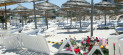 Tunisia beach scene