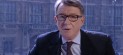 Labour peer Lord Mandelson on the Andrew Marr Show