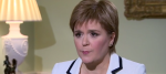 Nicola Sturgeon talking to the BBC's Andrew Marr Show
