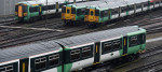 Four rail unions are going on strike next week.