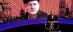 Jeremy Corbyn appears on Newsnight background