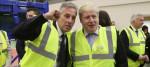 Ian Paisley and Boris Johnson
