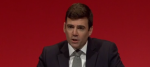 Andy Burnham addressing Labour conference this morning