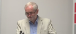 Jeremy Corbyn was unimpressed by questions about Virgin Trains