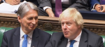 Philip Hammond and Boris Johnson