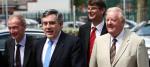 Ken Purchase, Gordon Brown, Rob Marris and Pat McFadden