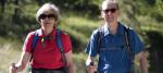 Theresa May and Philip May walking