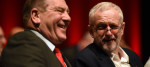 Andy Kerr and Jeremy Corbyn