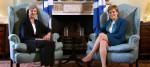 Theresa May and Nicola Sturgeon meeting in July