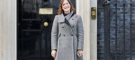 Victoria Atkins, the Home Office minister for crime, stands outside Number 10 Downing Street.