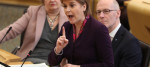 Nicola Sturgeon has accused Jeremy Corbyn of misleading the public over single market membership.