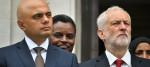 Sajid Javid and Jeremy Corbyn