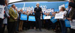 Theresa May launches the Conservative battle bus