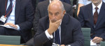 Sir Philip Green speaking to MPs about the collapse of BHS