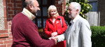 Labour leader Jeremy Corbyn and Labour party General-Secretary Jennie Formby campaigning for the local elections