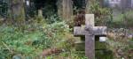 Gravestone in Tower Hamlets Cemetery Park