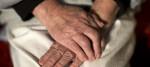 Elderly person in care
