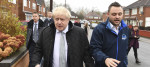 Ben Bradley and Boris Johnson