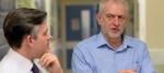 Jon Ashworth and Jeremy Corbyn