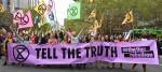 Extinction Rebellion protestors in London