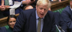 Boris Johnson during Prime Minister's Questions