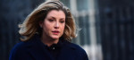 Penny Mordaunt in Downing Street this week