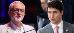 Jeremy Corbyn and Justin Trudeau