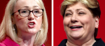 Rebecca Long-Bailey and Emily Thornberry