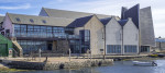 Shetland Museum and Archives at Hay's Dock, Lerwick on Shetland in Scotland.