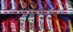 Sugary food in a vending machine