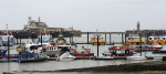 A view of the harbour in Ramsgate, Kent