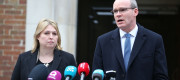 Karen Bradley and Simon Coveney