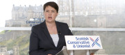 Ruth Davidson MSP delivers a speech