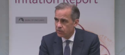 Bank of England Governor Mark Carney delivers the Quarterly Inflation Report, May 2017