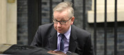 "Environment Secretary Michel Gove said sorry for the ""clumsy"" gag"