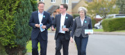 David Cameron, Robert Courts and Theresa May