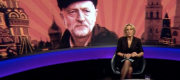 Jeremy Corbyn appears on Newsnight background