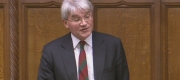 Andrew Mitchell speaking in the Commons this afternoon