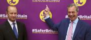 Henry Bolton and Nigel Farage