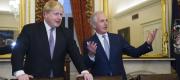 Boris Johnson and Bob Corker meet on Capitol Hill