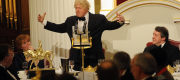 Boris Johnson makes a speech at an event hosted by the Lord Mayor in 2013