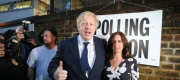 Boris Johnson and wife Marina Wheeler