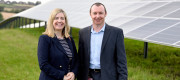 Andrea Jenkyns MP and Trevor Newman, Operations Director at Coca-Cola European Partners, Wakefield