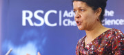 Labour MP Chi Onwurah at a Royal Society of Chemistry event
